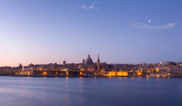 Valletta before Sunrise